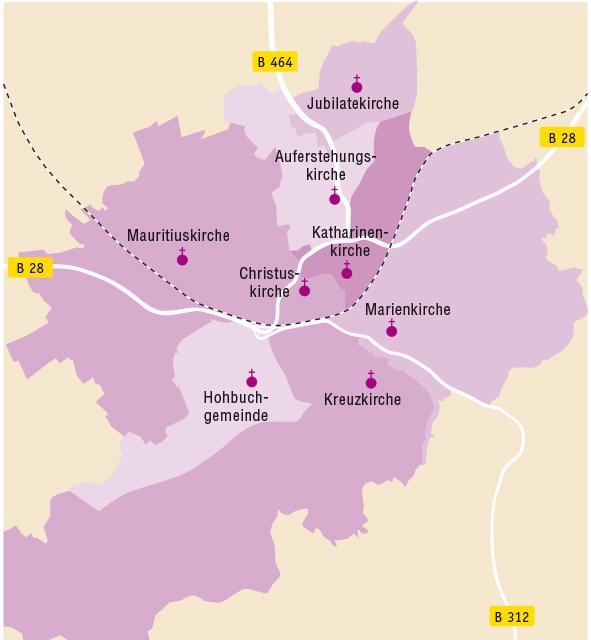 Gesamtkirchengemeinde Reutlingen